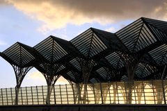 Gare hace Oriente Imagenes de archivo