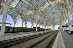 Gare hace Oriente, Lisboa Imágenes de archivo libres de regalías
