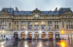 Gare heilige-Lazare Stock Afbeelding