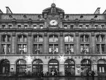 Gare Heiliges-Lazare Stockfotos