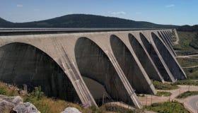Gare hydraulique de l'électricité photos stock