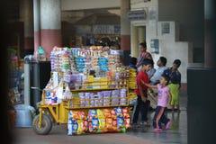 Gare indienne Photographie stock libre de droits