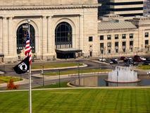 Gare Kansas City des syndicats Images stock
