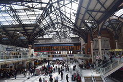 Gare Londres de Liverpool Photo stock