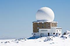 Gare météorologique photographie stock libre de droits