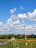 Gare météorologique images libres de droits