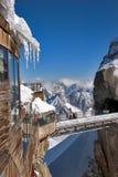 gare montagneuse élevée Photographie stock libre de droits