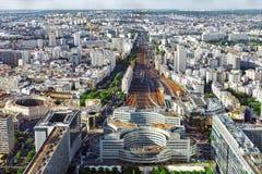 Free Gare Montparnasse(Railway Station)view From Tower Montparnasse.P Stock Photos - 34783673