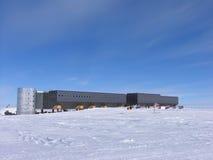 Gare neuve de Pôle du sud Photographie stock