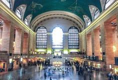 Gare New York de Grand Central Image libre de droits