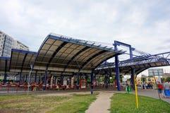 Gare routière images libres de droits