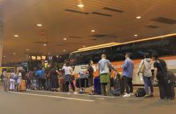 Gare routière d'aéroport de Narita Tokyo Japon Images libres de droits