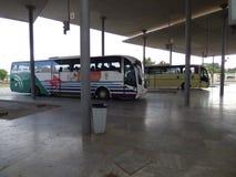 Gare routière d'Ayamonte Image libre de droits