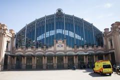 Gare routière de Barcelone Nord Image libre de droits