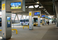 Gare routière de GWB Images libres de droits