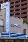 Gare routière de lévrier à Dallas photos stock