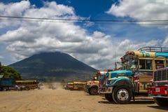 Gare routière de l'Antigua Image libre de droits