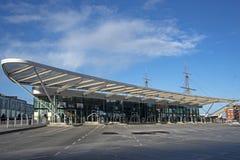 Gare routière Portsmouth dur Image libre de droits