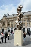 Gare Saint Lazare, Paris France with L'Heure de Tous Stock Image