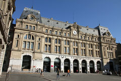 Gare Saint Lazare, railway station, Paris, France Royalty Free Stock Photo