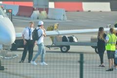 Gareth Bale au Gibraltar Photos libres de droits