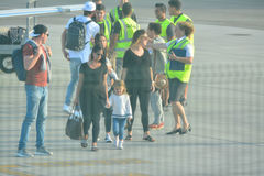 Gareth Bale au Gibraltar Photos stock