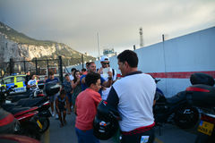 Gareth Bale au Gibraltar Photographie stock libre de droits