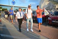 Gareth Bale au Gibraltar Photographie stock