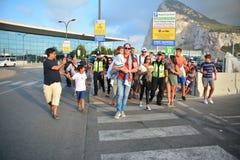 Gareth Bale em Gibraltar Fotos de Stock