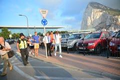 Gareth Bale in Gibraltar Stock Photography