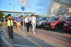 Gareth Bale in Gibraltar Stock Image