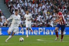 Gareth Bale and Luis Enrique Final Champion League 2014 Stock Image