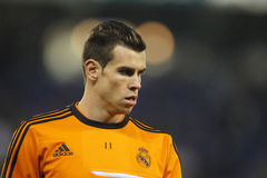 Gareth Bale of Real Madrid Stock Photo