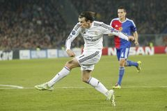 GARETH BALE REAL MADRID Stock Images