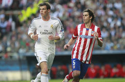Gareth Bale and Tiago Champion League 2014 Royalty Free Stock Image