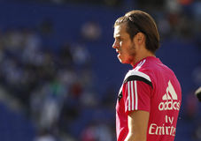 Gareth Bale von Real Madrid stockfotos