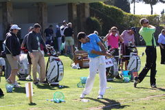 Gareth Maybin a golf aperto, Marbella di Andalusia Fotografie Stock
