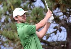 Gareth Shaw au défi 2013 de golf de Pleneuf Val Andre Photographie stock