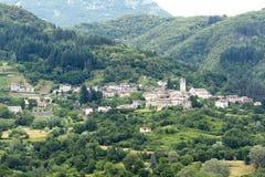 Garfagnana (Τοσκάνη, Ιταλία) Στοκ φωτογραφία με δικαίωμα ελεύθερης χρήσης
