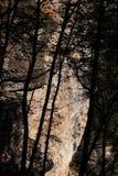 Garfagnana, alpi di Apuan, Lucca, Toscana L'Italia Eremo di San Viviano fotografia stock