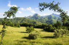 Garfagnana region, Italien arkivfoto