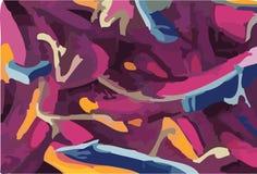 garffiti abstrakcjonistyczny wektor royalty ilustracja