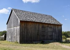 Garfield Hay And Grain Barn Immagine Stock