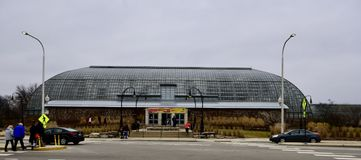 Garfield Park Conservatory Photographie stock