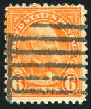 Garfield. UNITED STATES - CIRCA 1929: stamp printed by United states, shows Garfield, circa 1920 Royalty Free Stock Image