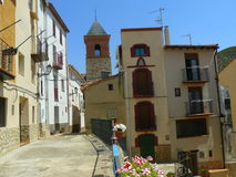 Gargallo, Teruel royalty-vrije stock afbeelding