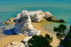 Gargano beach Stock Images