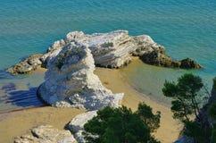 Gargano beach Royalty Free Stock Images