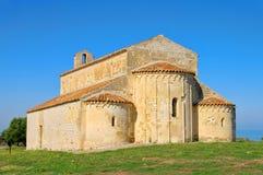 Gargano church Monte Elio Stock Image