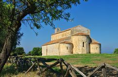 Gargano church Monte Elio Royalty Free Stock Photo